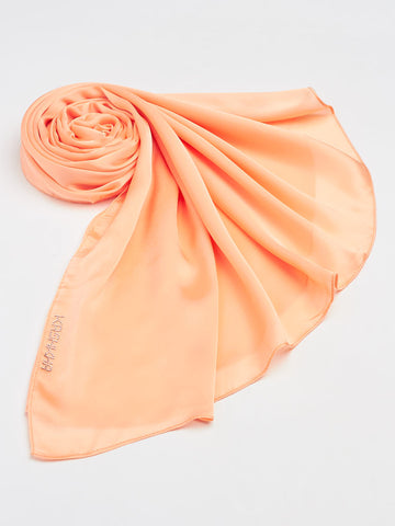 Plain Satin Scarves