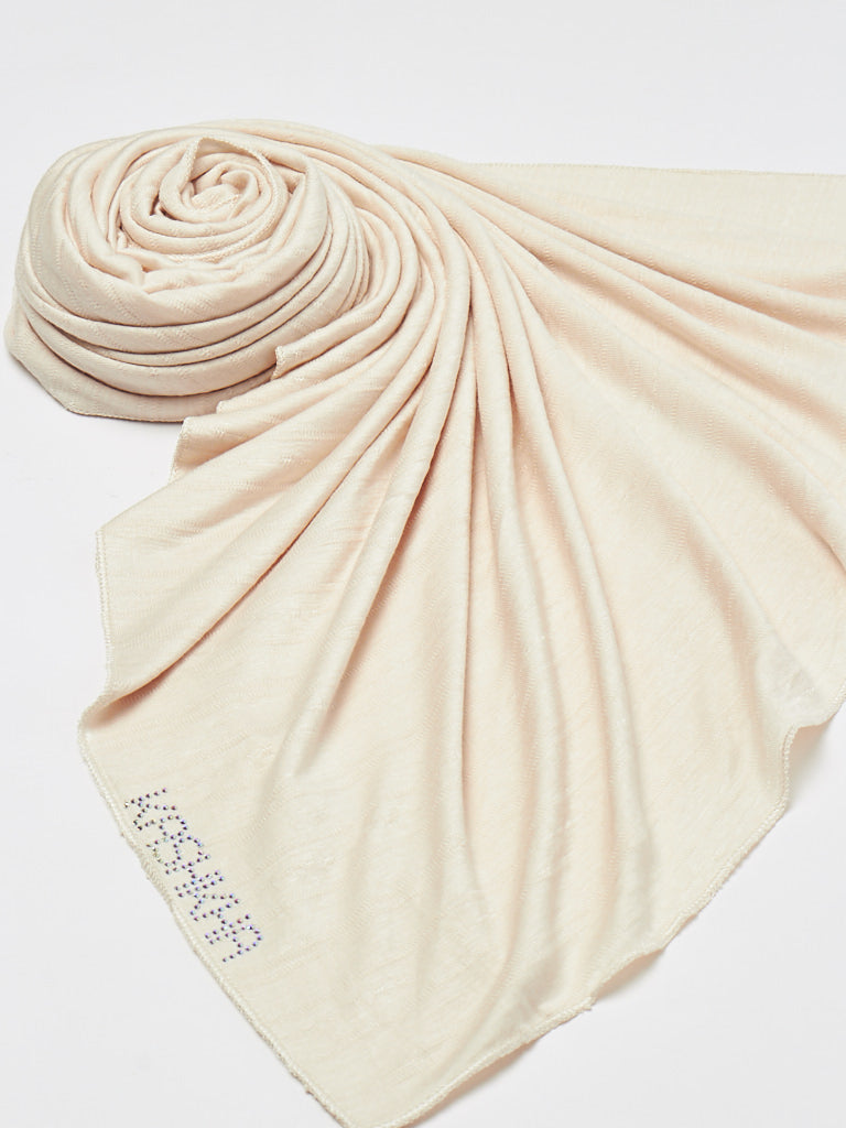 Basic Textured Jersey Hijab