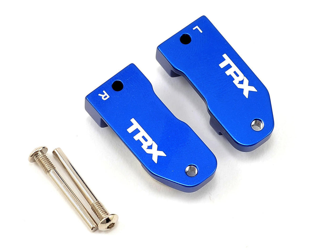 Traxxas Caster Blocks 30 Degree Blue TRA3632A