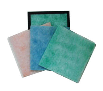 "Pad and Frame Air Filter (1 Frame and 6 Pads) - 11 1/4"" x 11 1/4"" x 1"""