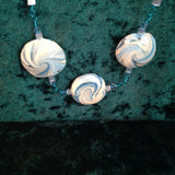 # 101 Blue Swirl Necklace