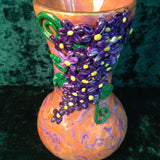 # 194  Mokume Game Vase with Lilacs