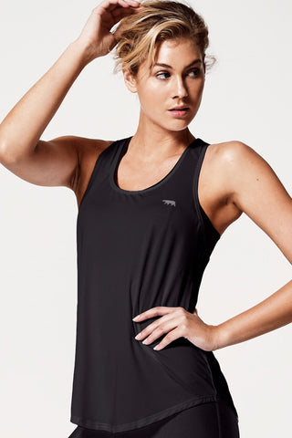 Back To Bare Tank - Black
