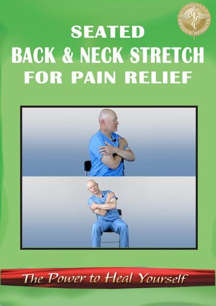 Gentle Seated Back & Neck Stretching DVD PRESALE or Digital Version