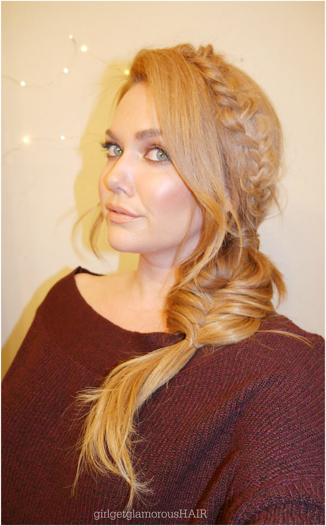 Double Braid | No Heat Hairstyle Tutorial