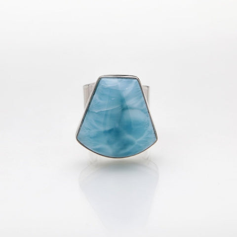 Larimar Statement Ring, Mabelle