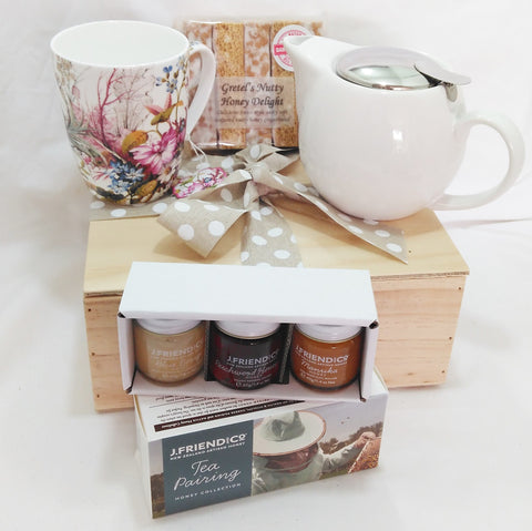 Tea and honey gift