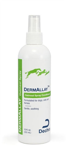 Dechra 10250 DermAllay Oatmeal Spray Conditioner, 12 oz - Peazz.com