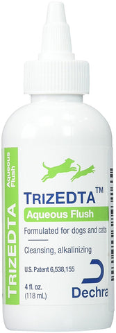 Dechra 14126 TrizEDTA Aqueous Flush, 4 oz - Peazz Pet