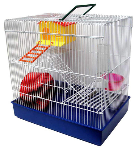YML 3 Level Red Hamster Cage