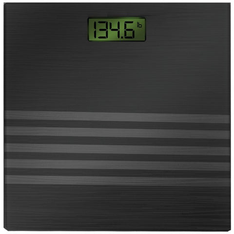 Bally Total Fitness BLS-7301 BLACK Digital Scale (Black) - Peazz.com