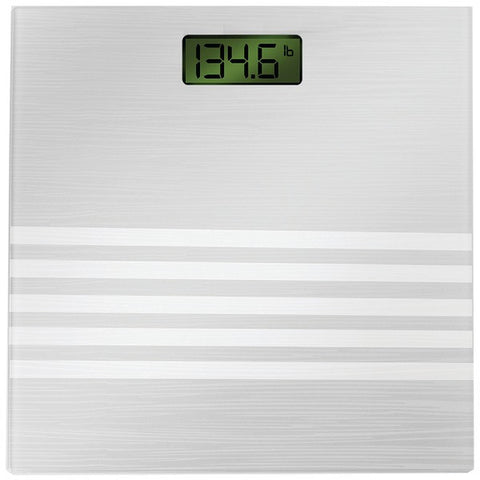Bally Total Fitness BLS-7301 SILVER Digital Scale (Silver) - Peazz.com