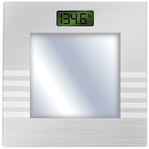 Bally Total Fitness BLS-7361 SILVER Bluetooth Digital Body Mass Scale (Silver) - Peazz.com