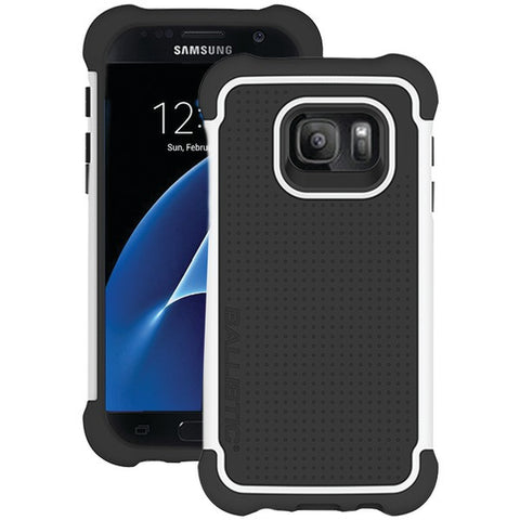Ballistic Case Co. TJ1681-A08N Samsung Galaxy S 7 Tough Jacket Case (Black/White) - Peazz.com