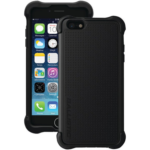 Ballistic Case Co. TX1429-A06C iPhone 6 Plus/6s Plus Tough Jacket Maxx Case with Holster (Black) - Peazz.com