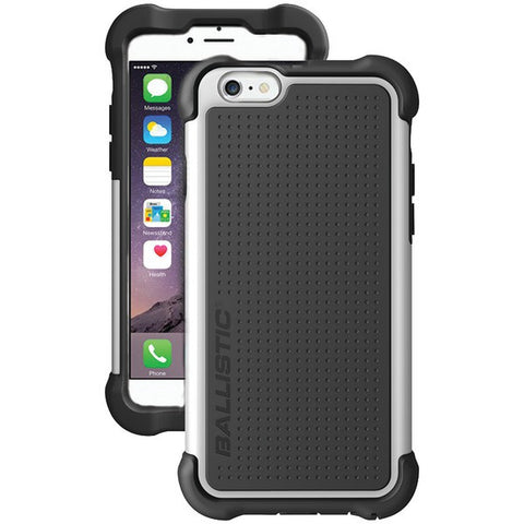 Ballistic Case Co. TX1429-A08C iPhone 6 Plus/6s Plus Tough Jacket Maxx Case with Holster (Black/White) - Peazz.com
