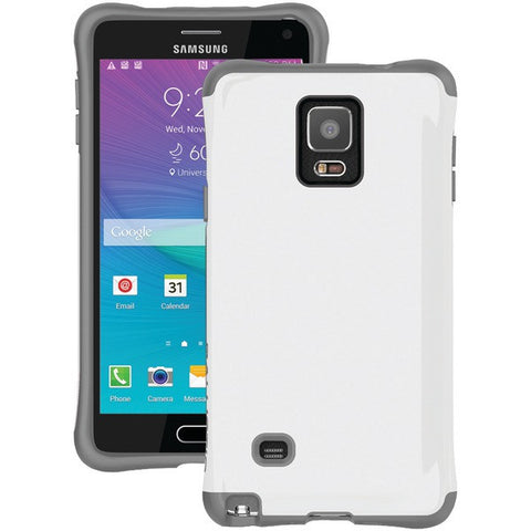 Ballistic Case Co. UR1498-A13C Samsung Galaxy Note 4 Urbanite Case (Charcoal/White) - Peazz.com