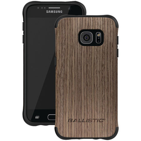 Ballistic Case Co. UT1688-B20N Samsung Galaxy S 7 Urbanite Select Case (Black/Dark Ash Wood) - Peazz.com