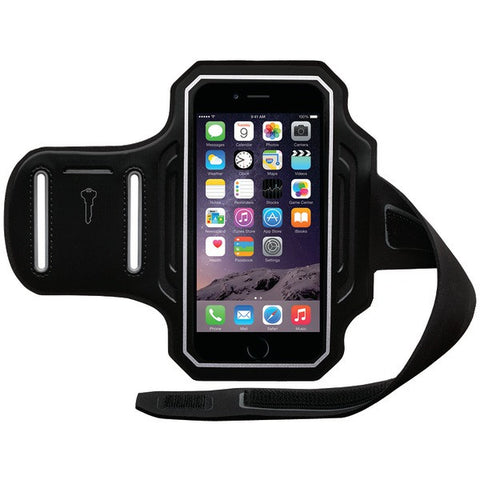Body Glove 9488001 iPhone 6/6s ENDURANCE Armband (Black/Silver) - Peazz.com