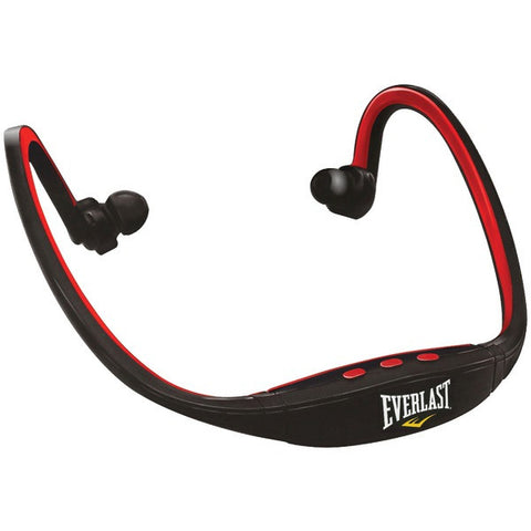 Everlast EV6829 Head Rock Bluetooth Headphones with Microphone (Red) - Peazz.com