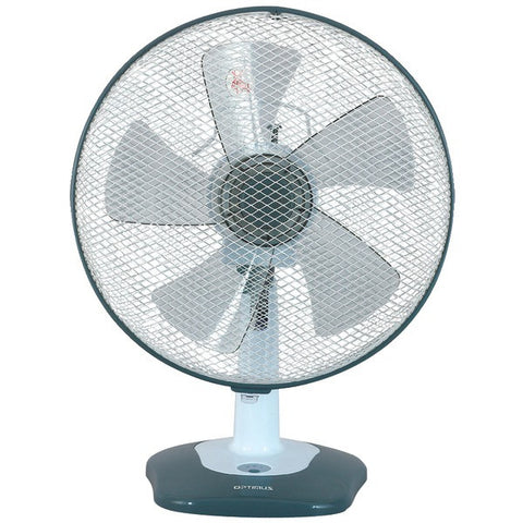 "Optimus F-1212 12"" Oscillating Table Fan with Soft Touch Switch - Peazz.com"