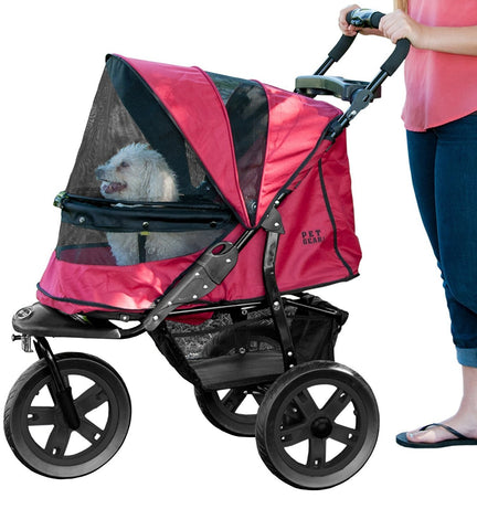 Pet Gear PG835NZRR Strollers Rugged Red Finish