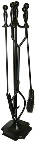 ShelterLogic 90390 Hearth Accessories Fireplace Toolset 5 pc. - Peazz.com