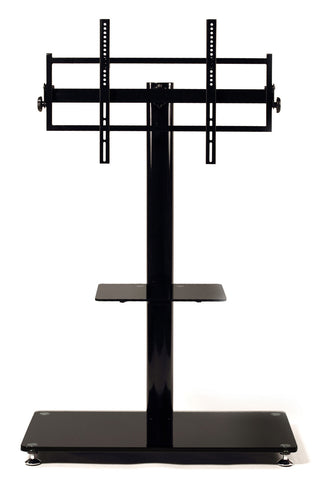 "TransDeco TD570B Flat Panel TV Mounting System W/Casters For Up To 60"" Plasma Or LCD/LED TVs - Peazz.com"