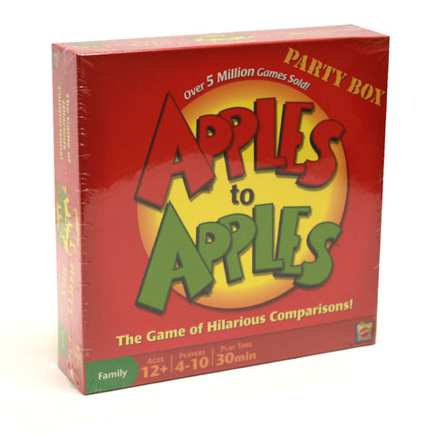 Mattel TMAT-01 Apples to Apples Party Box - The Game of Hilarious Compariso - Peazz.com