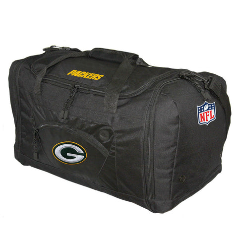 Road Block Duffle Bag NFL Black - Green Bay Packers - Peazz.com