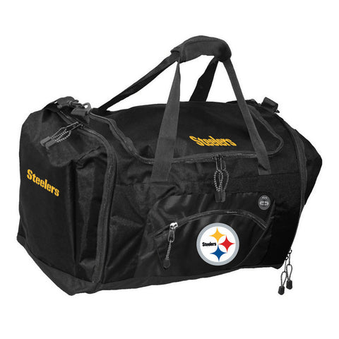 Road Block Duffle Bag NFL Gold - Pittsburgh Steelers - Peazz.com
