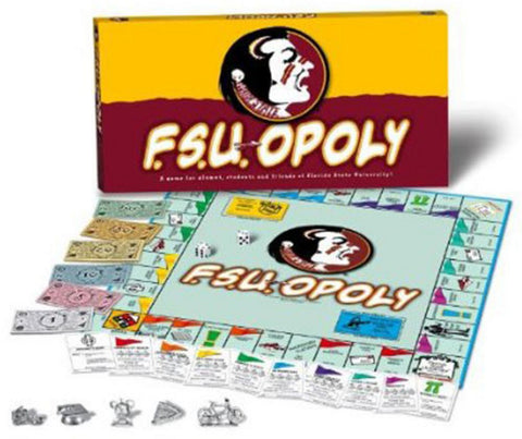 Monopoly Board Game - Florida State University - Peazz.com