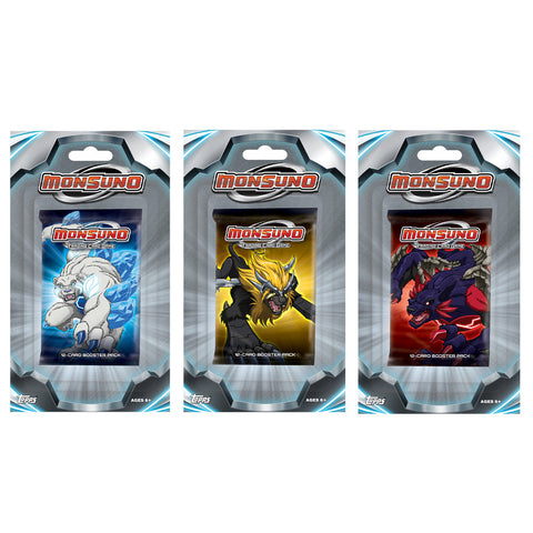 Monsuno Trading Card Game Booster Blister (24 Packs) - Peazz.com