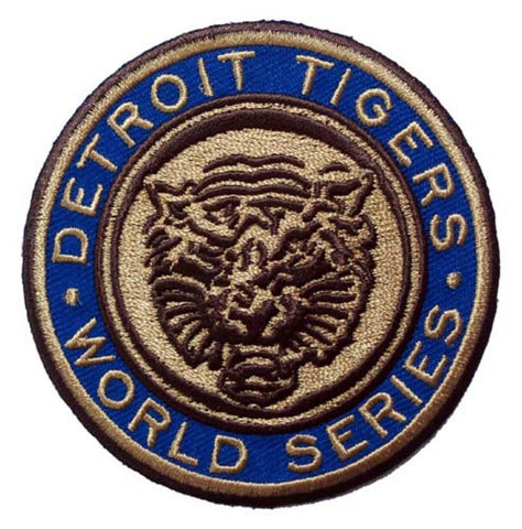 MLB World Series Logo Patches - 1968 Tigers - Peazz.com