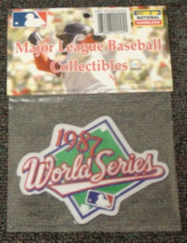 MLB World Series Patch - 1987 Twins - Peazz.com