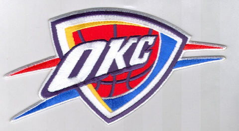 NBA Logo Patch - Oklahoma City Thunder - Peazz.com