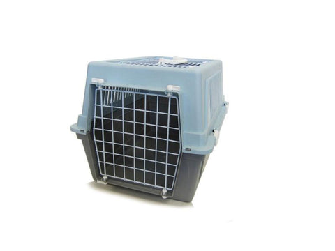 YML Group Z100D-BL Pet Kennel Travel Carrier - Blue - Peazz Pet