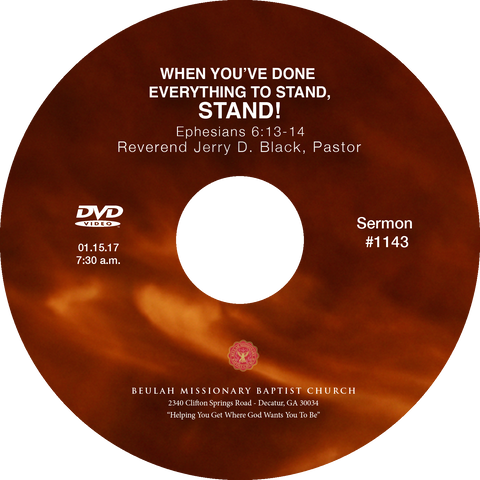 1143 When You've Done Everything to Stand, Stand! (CD)