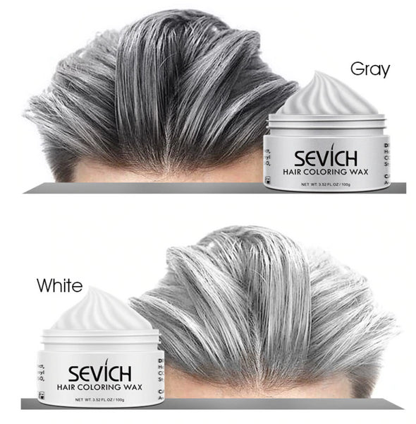 Cera Colorante Sevich for VOGUETI Tinte Color Temporal Gel Unisex Gris Plata Morado Verde