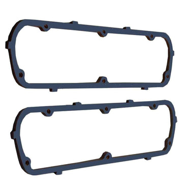 DEMOTOR Blue Valve Cover Gasket Set Cork with Steel Core for Early SBF Ford Valve Covers