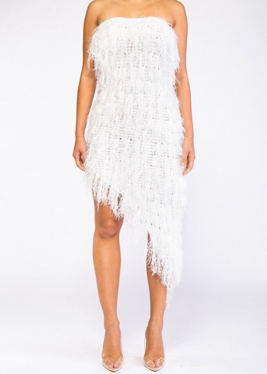 Angel of Mine Fringe Dress