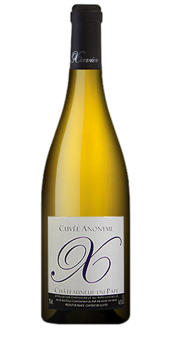 Xavier Chateauneuf Du Pape Cuvee Anonyme Blanc 2014
