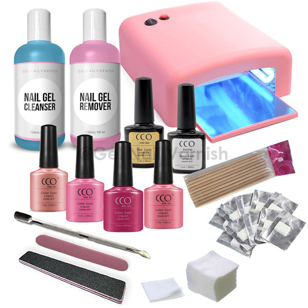 CCO Deluxe Pink Kit - Pink UV Lamp