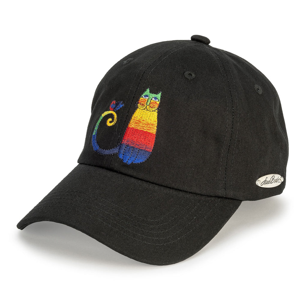 Laurel Burch™ Rainbow Cats Embroidered Cap - NEW!!!