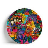 Laurel Burch™ Laurel's Garden Melamine Dinner Plate - NEW!!!