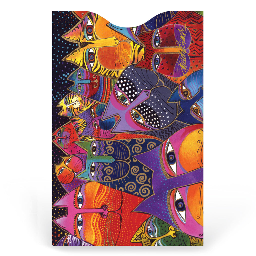 Laurel Burch™ Fantasticats Credit Card Sleeve - NEW!!!