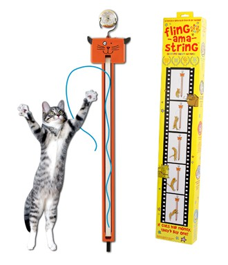 Fling-ama-String™ Interactive Cat Toy