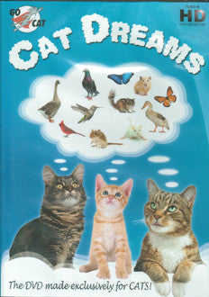 Cat Dream DVD for Cats
