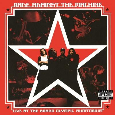 Rage Against The Machine Live At The Grand Olympic Stadium Vinyl 2LP
