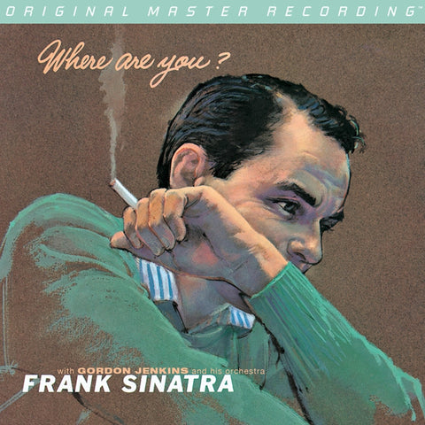 Frank Sinatra - Where Are You? on Numbered Limited Edition Hybrid Mono SACD from Mobile Fidelity - direct audio
